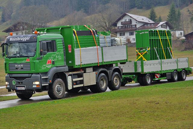 Stahlträger beton und fertigteiltransporte moosbrugger bau und transporte